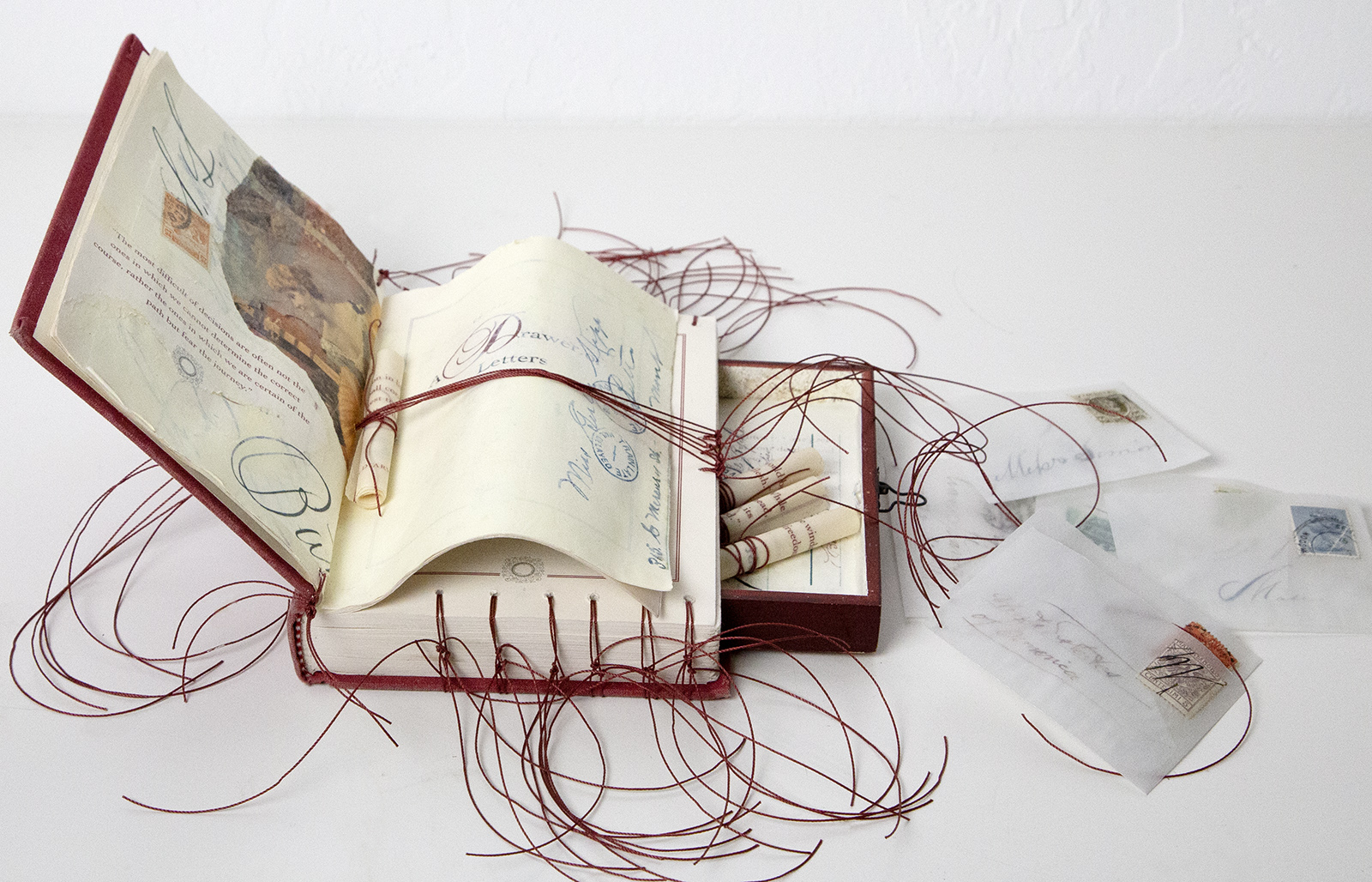 Altered Art Book by Sandy Young