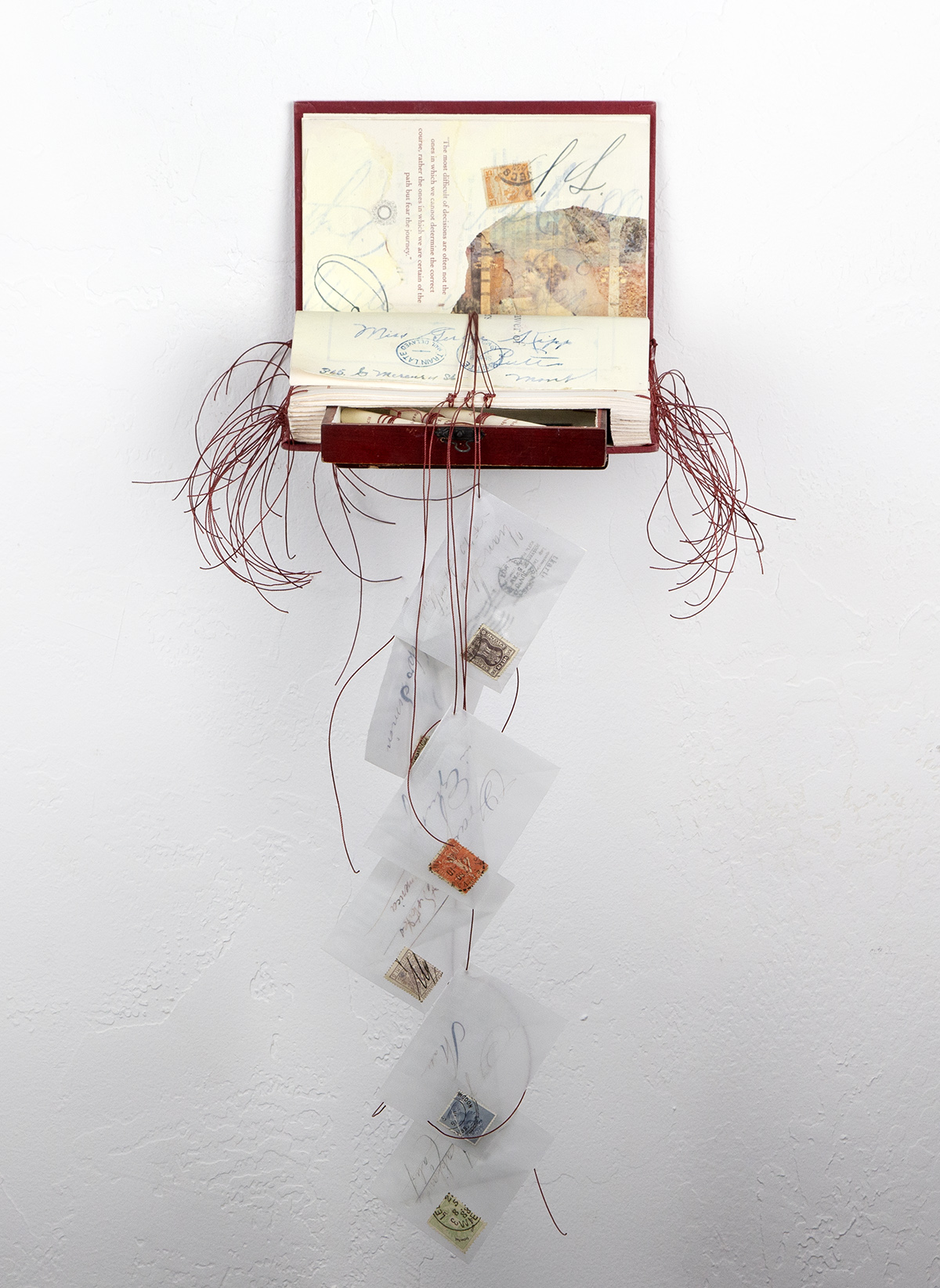 Altered Book by Sandy Young